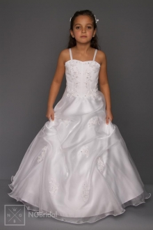 Kinderkleid Kommunion - Blumenkinder Kleid - Modell K5600 - K 5600
