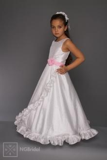 Kinderkleid Kommunion - Blumenkinder Kleid  - K 5700