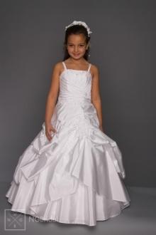 Kinderkleid Kommunion - Blumenkinder Kleid  - K 4000