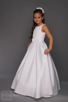 Kinderkleid Kommunion - Blumenkinder Kleid - K 5800