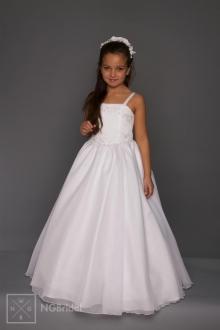 Kinderkleid Kommunion - Blumenkinder Kleid - K 5400