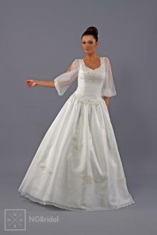 Brautkleid Trachten Brautmode mit Ärmel - 1711