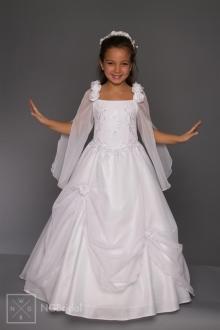 Kinderkleid Kommunion - Blumenkinder Kleid - K 5300