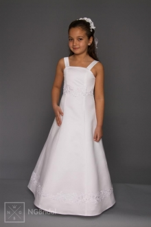 Kinderkleid Kommunion - Blumenkinder Kleid - K 5200