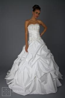 Hochzeitskleid Taft & Spitze - Brautmode 2013 - 1820